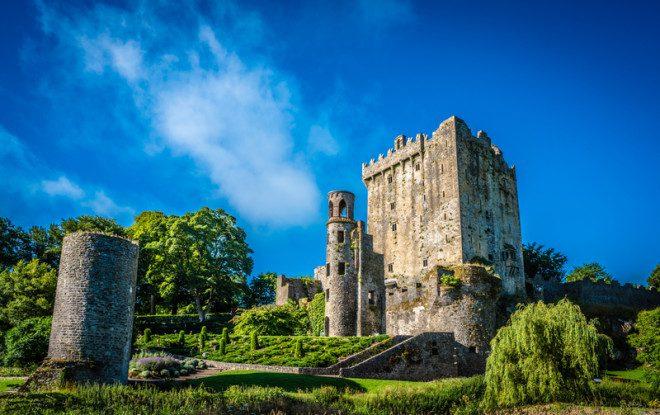Castelo de Blarney é visita obrigatória pelos turistas que forem ao sul da Irlanda. © Juergen Kriger | Dreamstime.com