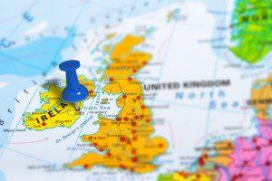 Irlanda: mapa das cidades, condados e regiões