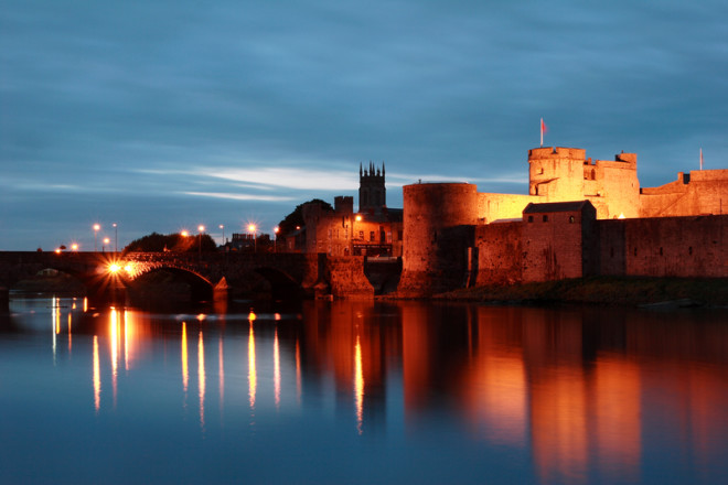 O King John´s Castle é a atração mais famosa de Limerick. Crédito: Dejavu Designs   Dreamstime.com