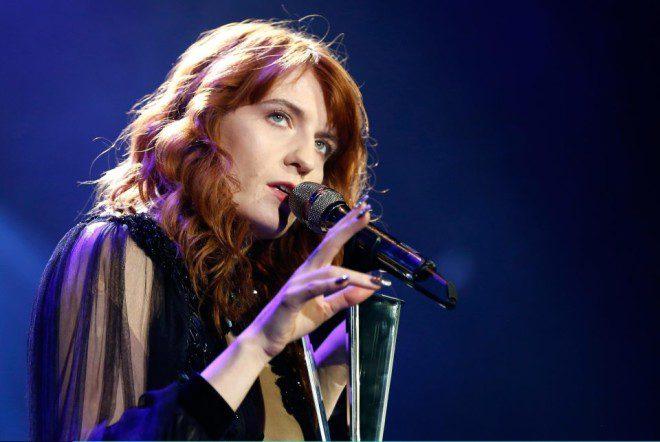 Florence + The Machine realizam novo show em Dublin. Foto: The Sun