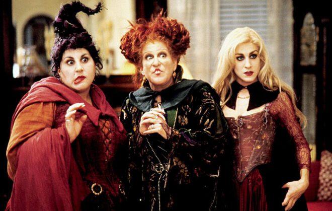 filme abracadabra conta com três bruxas no halloween