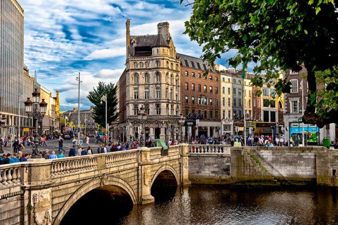 Dublin é eleita uma das melhores cidades do mundo para se morar segundo expatriados europeus. Foto: Ian Whitworth   Dreamstime