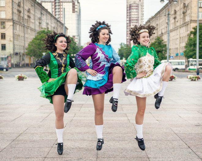 Dança irlandesa é tradição na Irlanda. © Darkbird77 | Dreamstime.com