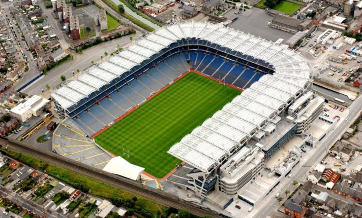 Estádios de futebol na Irlanda
