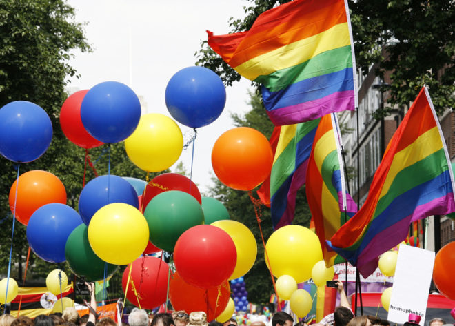 Gay Pride 2019, na Irlanda, acontece em Dublin de 20 a 30 de junho..© Anizza   Dreamstime.com