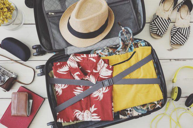Aproveite bem as divisões de sua mala.© Sebnem Ragiboglu   Dreamstime.com