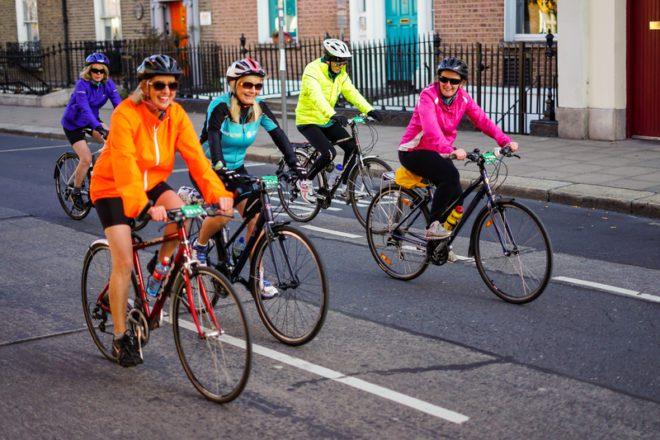 Na Irlanda mais de 80 mil pessoas utilizam bicicletas como principal meio de transporte.© Bigray8 | Dreamstime.com