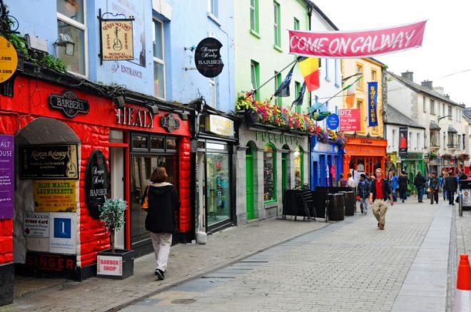 Galway é uma das alternativas de intercâmbio no interior do país.© Gunold   Dreamstime.com