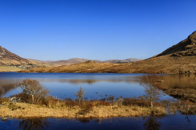 Glenveagh é o único parque nacional oficial em qualquer parte da província de Ulste.© Patrick Mangan | Dreamstime.com
