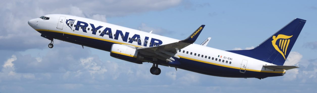 Ryanair lança rota entre Dublin e Kerry