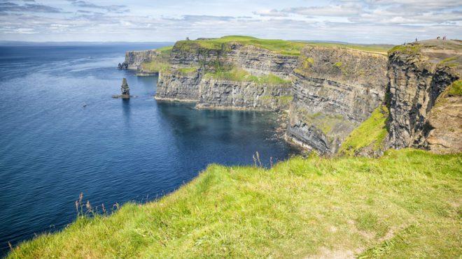 Cliffs of Moher é um dos pontos turísticos mais visitado da Irlanda© Markus Gann Dreamstime.com