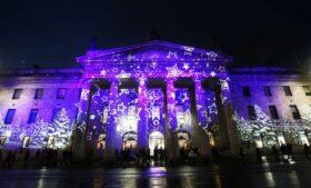 Luzes de Natal são acesas em Dublin: saiba onde ver