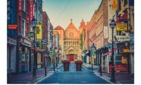 Ruas centrais de Dublin serão fechadas para pedestres a partir de 24/05