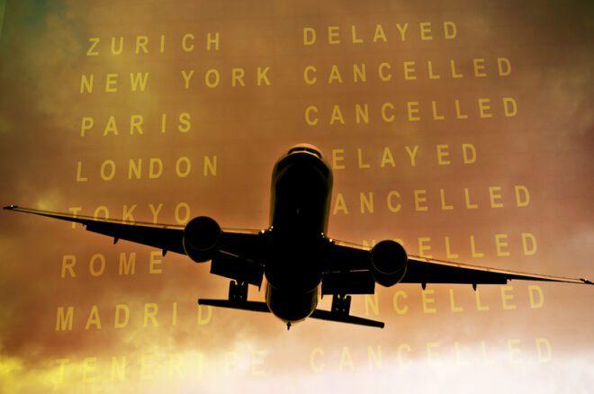 Mais de 112 mil voos são cancelados por ano no país.