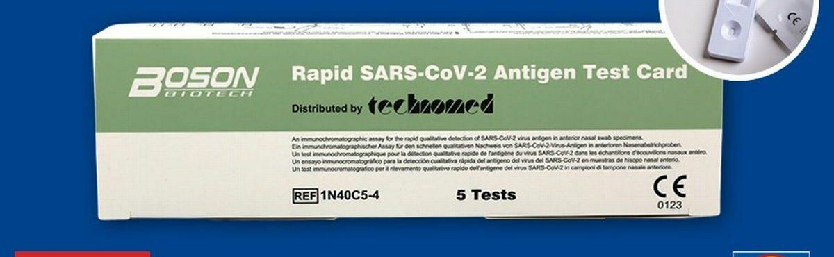 Covid-19: Irlanda adverte cidadãos contra testes vendidos em supermercados
