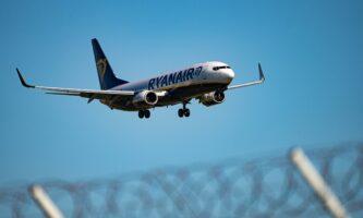 Promoção Ryanair com passagens a partir de 7,99 euros até meia-noite